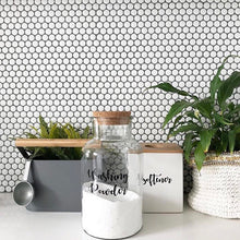 Autumn Laundry Label Sets - Kmart Jars