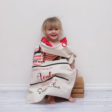 Personalised Christmas Santa Sacks - 25 December