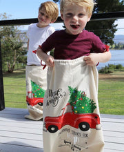 Personalised Christmas Santa Sacks - Christmas Truck