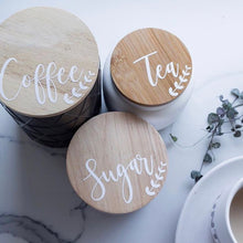 Orchid Tea, Coffee Sugar Labels