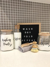 Orchid Laundry Label Sets - Kmart Jars