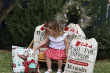 Personalised Christmas Santa Sacks - North Pole Express