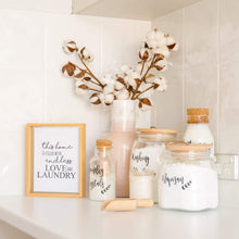 Laundry Label Sets - Kmart Jars
