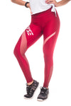 Energy Maroon Shaper Tights (Ventilator Series)