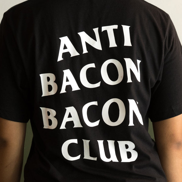 Anti Bacon Bacon Club (T-Shirt)