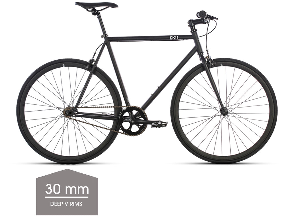 6KU Nebula Single Speed Bicycle