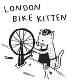 London Bike Kitten T-shirt - PRESALE