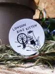 London Bike Kitten Sticker