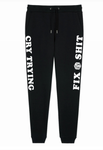 "LBK ""Business Suit"" Fix Sh*t or Cry Trying Sweatpants / Joggers"