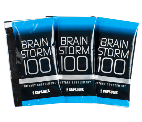 BrainStorm100 - 1 Week Supply