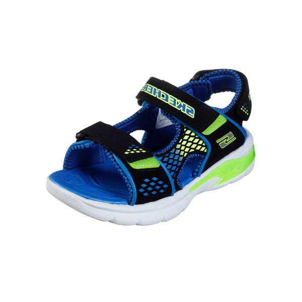 Sandale copii Skechers Lights 90558L BBLM