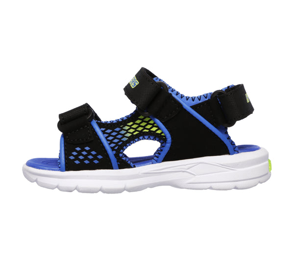 Sandale copii Skechers Lights 90558N BBLM
