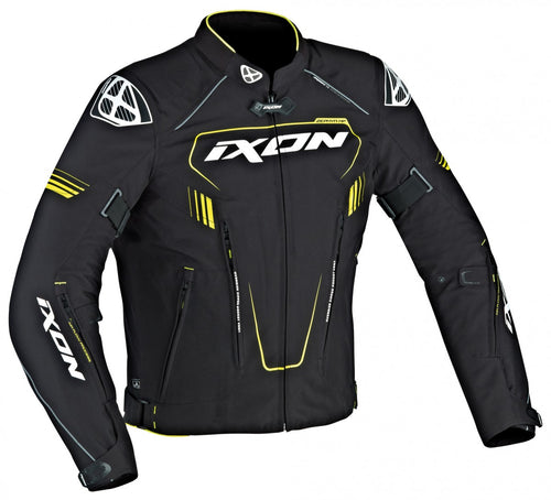 IXON ZEPHYR HP JACKET - BLACK/YELLOW