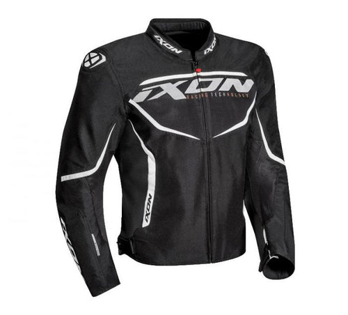 IXON SPRINTER AIR BLACK/WHITE JACKET