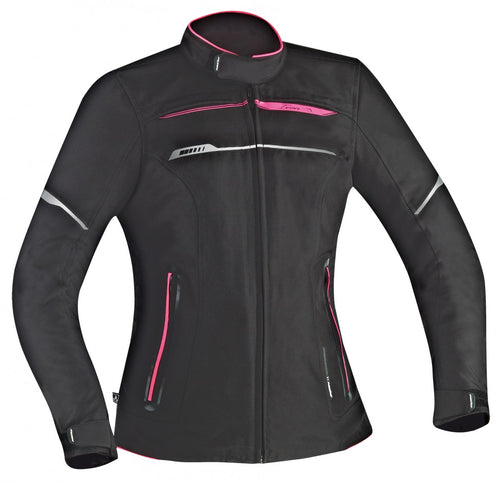 IXON ZETEC LADY HP JACKET - BLACK/PINK