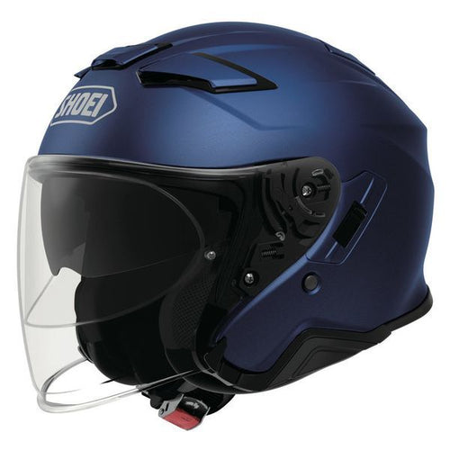 SHOEI J-CRUISE II MATT BLUE METALLIC HELMET