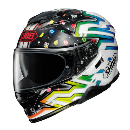SHOEI GT-AIR 2 LUCKY CHARMS TC-10 HELMET
