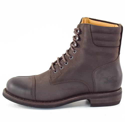 ROKKER URBAN RACER BOOTS - DARK BROWN