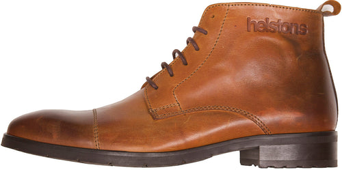 HELSTONS HERITAGE LEATHER BOOTS - CAMEL