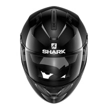 SHARK RIDILL BLANK BLACK HELMET