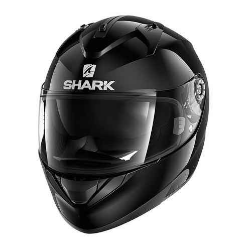SHARK 2020 RIDILL BLANK BLACK HELMET