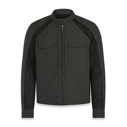 BELSTAFF TEMPLE BLOUSON JACKET - MILITARY GREEN