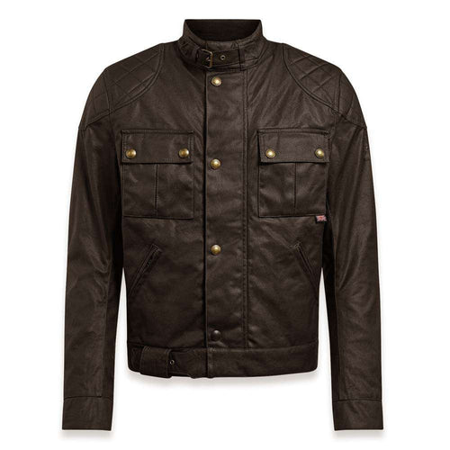 BELSTAFF 2020 SIGNATURE BROOKLANDS PRO WAX COTTON JACKET - MAHOGANY