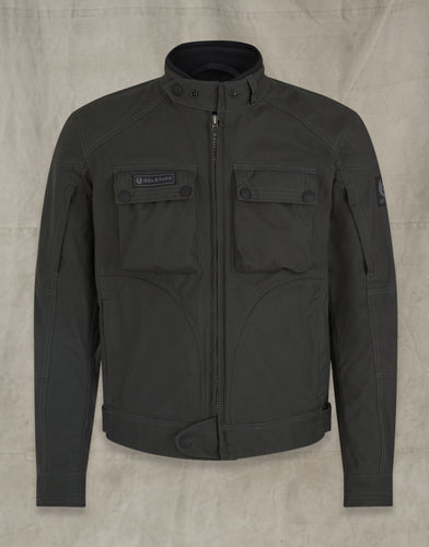 BELSTAFF GREENSTREET BLOUSON JACKET - MILITARY GREEN