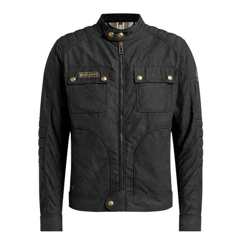 BELSTAFF ROBERTS 2.0 TECHNICAL WAX JACKET - BLACK