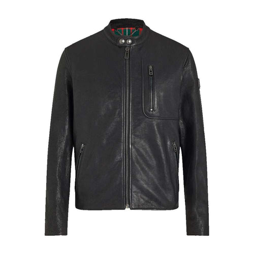 LONG WAY UP MONTANA LEATHER JACKET - BLACK