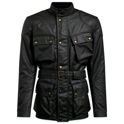 BELSTAFF 2020 SIGNATURE TRIALMASTER PRO WAX COTTON JACKET - BLACK