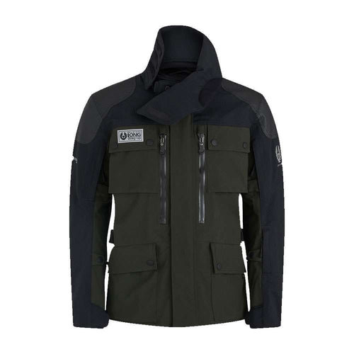 BELSTAFF LONG WAY UP GORE-TEX PRO JACKET - OLIVE