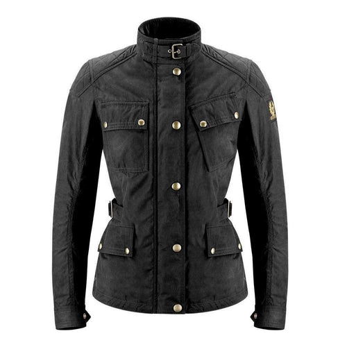 BELSTAFF PHILLIS 2.0 LADIES TECHNICAL WAX JACKET - BLACK