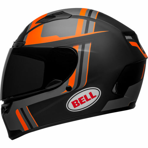BELL QUALIFIER DLX MIPS TORQUE MATTE BLACK/ORANGE HELMET