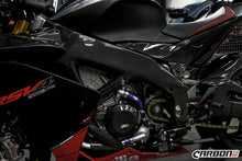 CARBON2RACE APRILIA RSV4 2009-2020 CARBON FIBER UNDER TANK PANELS