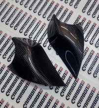 CARBON2RACE HONDA CBR 1000 RR 2012-2016 CARBON FIBER SIDE TANK SLIDERS