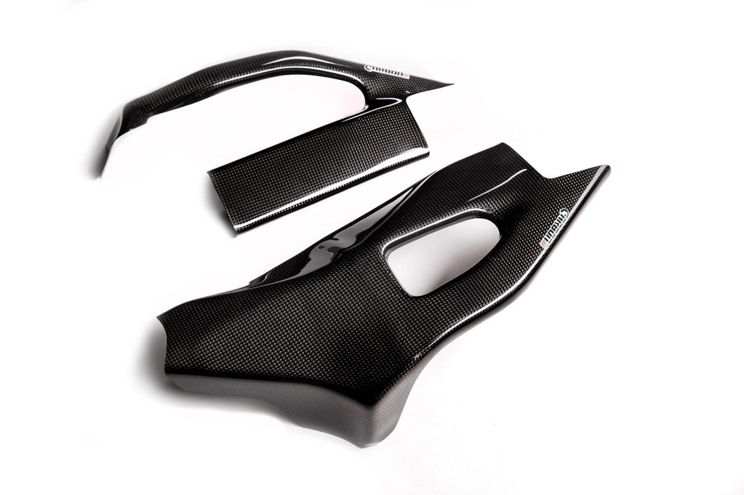 CARBON2RACE SUZUKI GSX-R 1000 2005-2006 CARBON FIBER SWINGARM COVERS