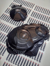 CARBON2RACE SUZUKI GSX-R 1000 2009-2016 CARBON FIBER ENGINE COVERS (2-PIECES)