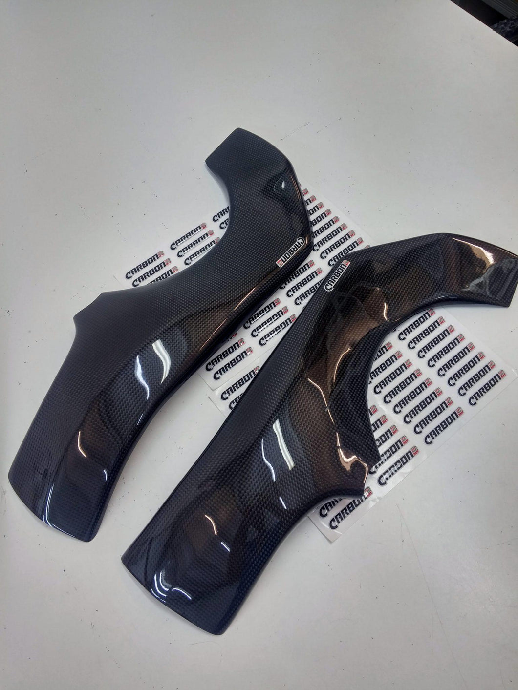 CARBON2RACE YAMAHA FZ8 2010-2015 CARBON FIBER FRAME COVERS