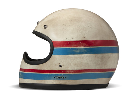 DMD LINE HANDMADE FULL FACE HELMET (SIZE: MEDIUM)