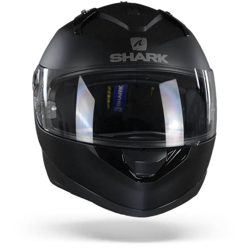 SHARK 2020 RIDILL BLANK MATTE BLACK HELMET