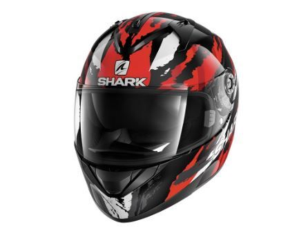 SHARK RIDILL OXYD BLACK/RED/SILVER HELMET