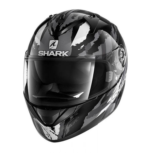 SHARK RIDILL OXYD BLACK/CHROME/ANTHRACITE HELMET