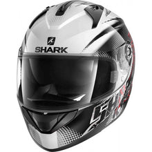 SHARK RIDILL ECE FINKS WHITE/BLACK/RED HELMET