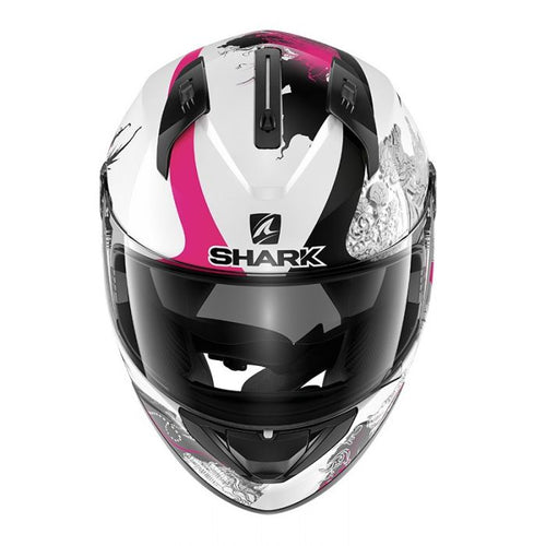 SHARK RIDILL SPRING WHITE/BLACK/VIOLET HELMET