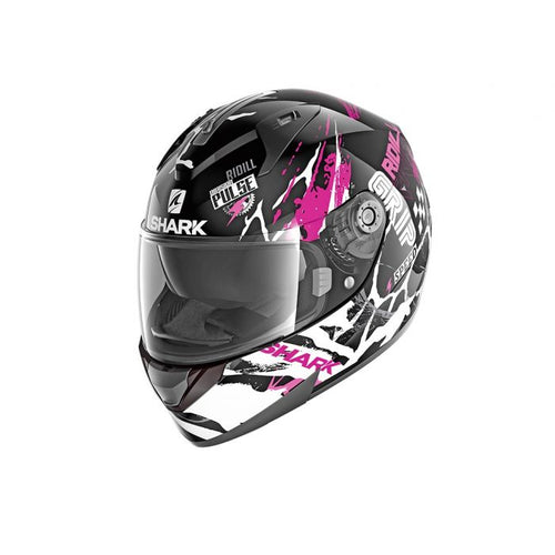 SHARK RIDILL ECE DRIFT-R BLACK/VIOLET/WHITE HELMET