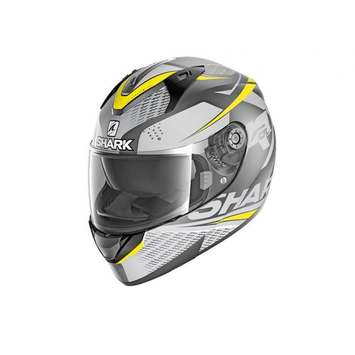 SHARK RIDILL ECE STRATOM MATTE ANTHRACITE/YELLOW HELMET