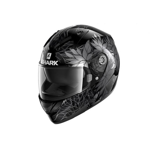 SHARK RIDILL NELUM BLACK/SILVER/ANTHRACITE HELMET