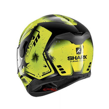 SHARK D-SKWAL DHARKOV BLACK/YELLOW/ANTHRACITE HELMET