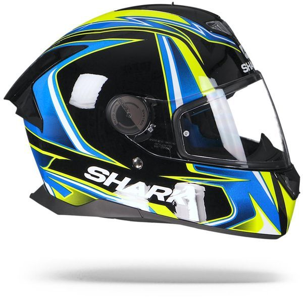SHARK SKWAL 2 ECE SYKES BLACK/BLUE/YELLOW REPLICA HELMET